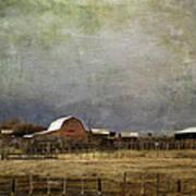 Alberta Farm Land Art Print