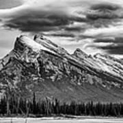Alberta Rockies Art Print