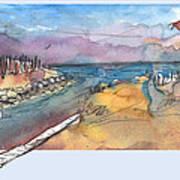 Albufera De Valencia 15 Art Print