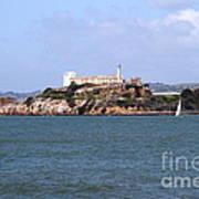 Alcatraz Island In San Francisco California . South Side . 7d14288 Art Print