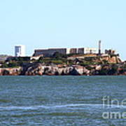 Alcatraz Island In San Francisco California . West Side . 7d14031 Art Print by Wingsdomain Art and Photography