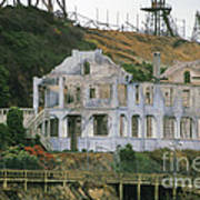 Alcatraz Skeleton Art Print