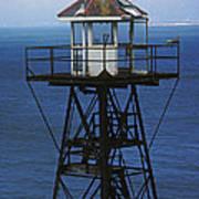 Alcatraz Watch Tower Art Print by Paul W Faust -  Impressions of Light