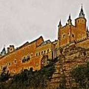 Alcazar De Segovia - Spain Art Print