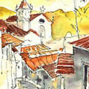Alcoutim In Portugal 06 Art Print