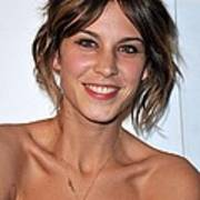 Alexa Chung At Arrivals For The Whitney Art Print