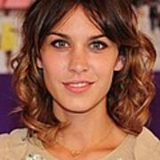 Alexa Chung In Attendance For The 2010 Print by Everett