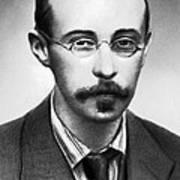 Alexander Friedman, Soviet Cosmologist Art Print