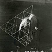 Alexander Graham Bell And Mabel Kissing Art Print