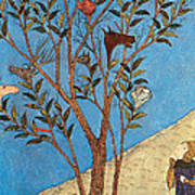 Alexander The Great At The Oracular Tree Art Print by Photo Researchers