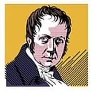 Alexander Von Humboldt, German Naturalist Art Print