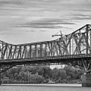 Alexandra Bridge Art Print