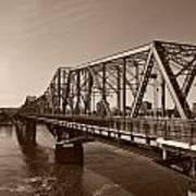 Alexandria Bridge Art Print