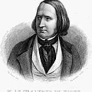 Alfred Victor De Vigny Art Print