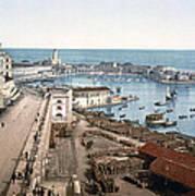 Algiers - Algeria - Harbor And Admiralty Art Print