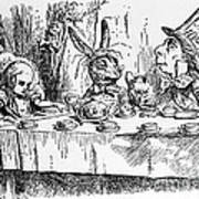 Alice In Wonderland Print by Photo Researchers, Inc.