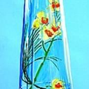 Alive Flowers Art Print by Sonya Ragyovska