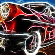 All American Hot Rod Art Print