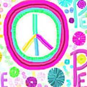 All The Peace Art Print by Rosana Ortiz