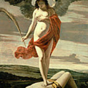 Allegory Of Victory Art Print