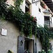 Alley In Bressanone Art Print