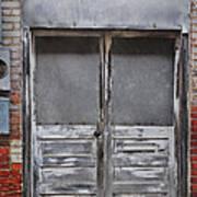 Alley Doors Art Print