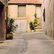 Alley In Arles France Art Print