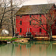 Alley Mill 4 Art Print