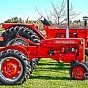 Allis-chalmers Tractors Art Print