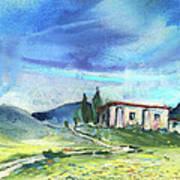 Almeria Region In Spain 02 Art Print