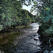 Almond River Cramond Art Print