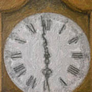 Almost Six O'clock Art Print