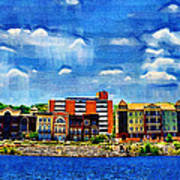 Along The Tennessee River In Decatur Alabama Art Print