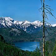 Alp See Lake In Bavaria Germany Art Print