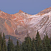 Alpenglow San Juan Mountains Art Print
