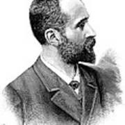 Alphonse Bertillon, French Police Officer Art Print by