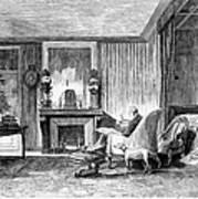Alphonse De Lamartine Art Print