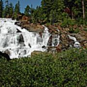 Alpine Falls Lake Tahoe II Art Print