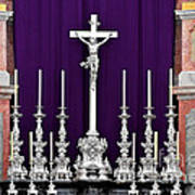 Altar Dresdener Hofkirche Art Print