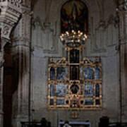 Altar Shadowed And Shining Art Print