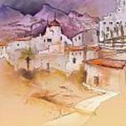 Altea La Vieja In Spain 11 Art Print
