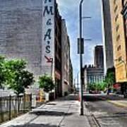 Am And As Downtown Buffalo Vert Art Print