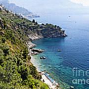 Amalfi Coast At Conca Dei Marini Art Print