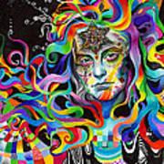 Amalgamation Art Print by Callie Fink