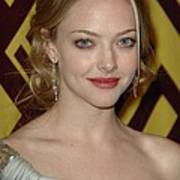 Amanda Seyfried At Arrivals For After Art Print
