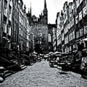 Amber Alley In Gdansk - Poland Art Print