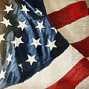 America Flag Art Print