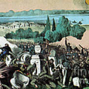 American Civil War, Battle Of Baton Art Print