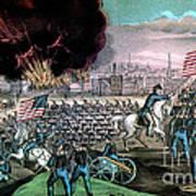 American Civil War, Capture Of Atlanta Art Print