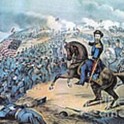 American Civil War, Storming Of Fort Art Print
